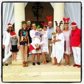 Le Noël de Cara Delevingne