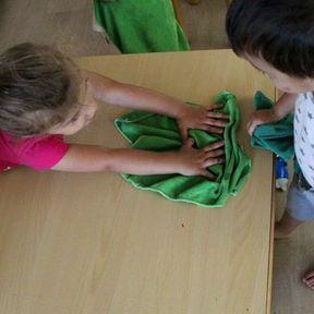 15h20 : nettoyage des tables
