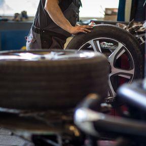 Des pneus