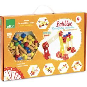 Coffret de construction Batibloc, Vilac