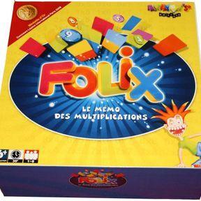 Folix, le mémo des multiplications
