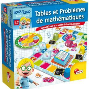 Tables et problèmes de mathématiques