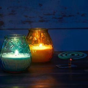 Les bougies parfumées à la citronnelle