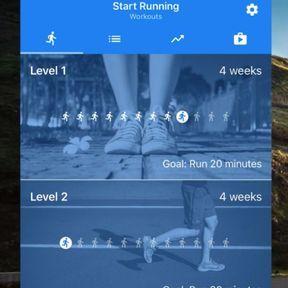 Start running, la plus ludique