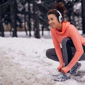 Porter des chaussettes de running pour l'hiver