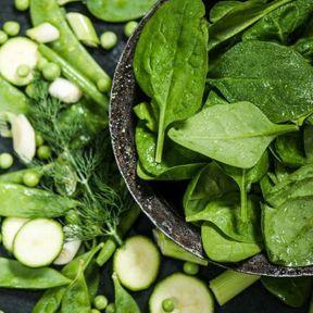 Faites le plein de légumes verts