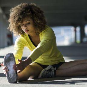 Exercice pour étirer le quadriceps