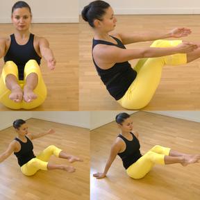 Exercice pour les abdominaux et les adducteurs