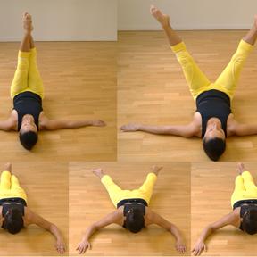 Exercice pour les adducteurs et les abdominaux