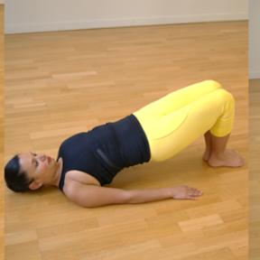 Exercice pour les fessiers et le dos