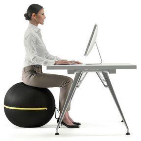 Remplacez votre chaise par une balle de gym