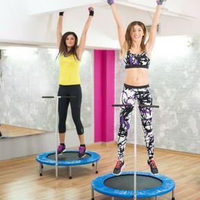 On saute en trampoline !