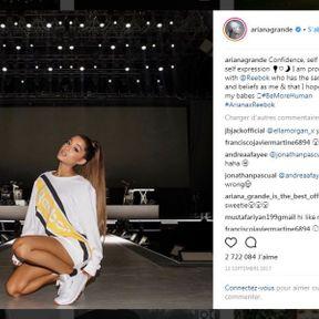 Ariana Grande pour Reebok