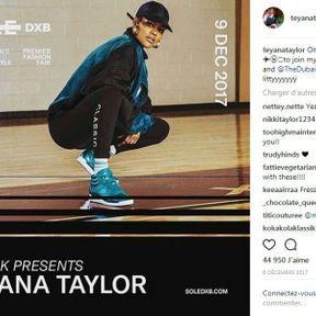 Teyana Taylor pour Reebok