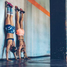 Equilibre contre le mur