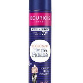Le déodorant Haute Fidélité de Bourjois