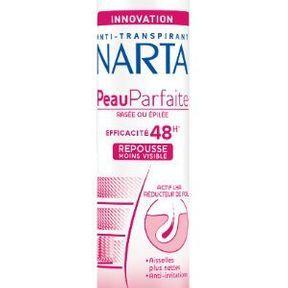 Le déodorant Peau Parfaite de Narta