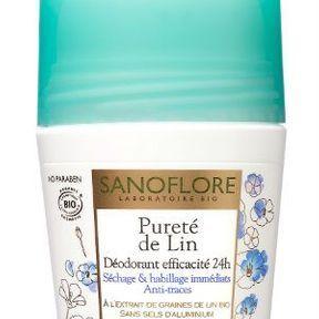 Le déodorant Pureté de Lin de Sanoflore