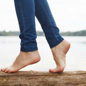 Rester pieds nus le plus longtemps possible
