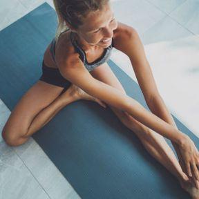 Positions n°4 : étirement des orteils