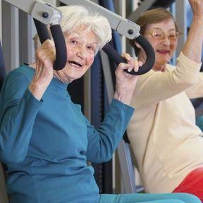 La musculation c'est seulement pour les jeunes !