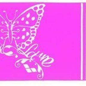 Drap de bain Laure Manaudou, pour papillonner en beauté