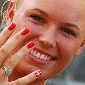 La joueuse de tennis danoise Caroline Wozniacki