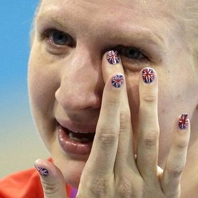 La nageuse britannique Rebecca Adlington