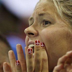 La nageuse danoise Lotte Friis