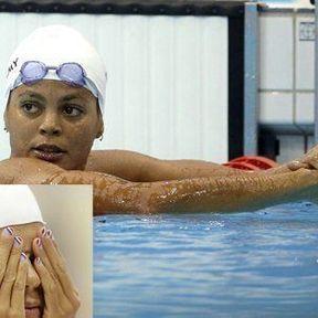 La nageuse française Coralie Balmy
