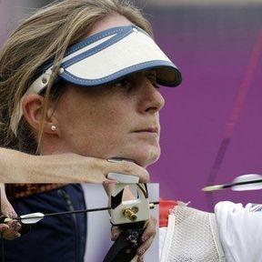 La tireuse à l'arc britannique Naomi Folkard