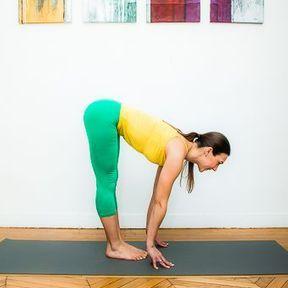 Demi-flexion avant debout ou Ardha Uttanasana
