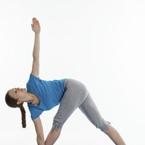 La posture du Triangle ou Trikonasana