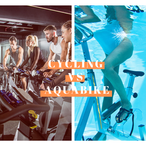 Cycling vs aquabiking