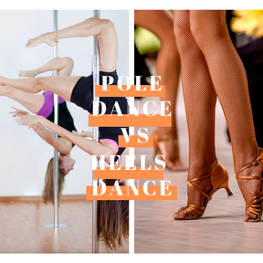 Pole dance vs Heels dance