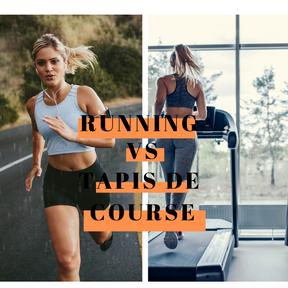 Running à l'extérieur vs tapis de course