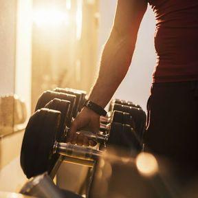Rangez vos poids et vos haltères