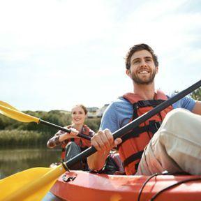 Voguer sur le bonheur (en canoë ou paddle)