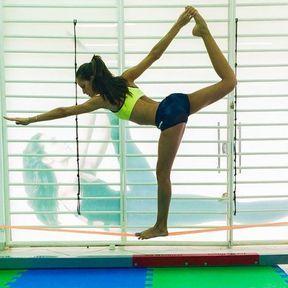 Izabel Goulart reine de l'équilibre