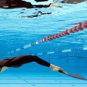 La nage avec palmes