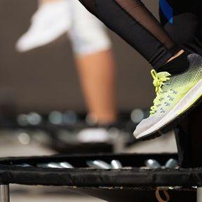 Le mini-trampoline ou Rebounding