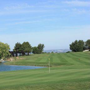 Un golf dans les Alpilles