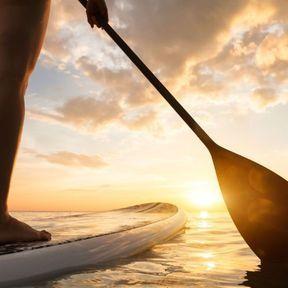 Une séance de stand-up paddle sur le Bassin d'Arcachon