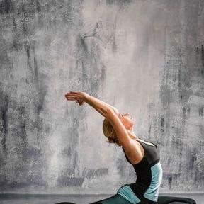 """Yoga """"Never-too-late"""""""