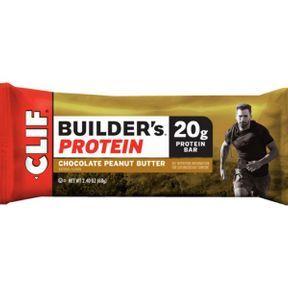 Barre protéinée CLIF Builder's