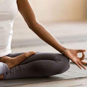 La posture de la méditation assise