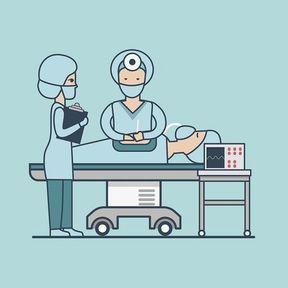 L'anesthésie de la maman