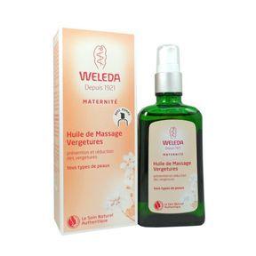 Huile de massage Vergetures, Weleda