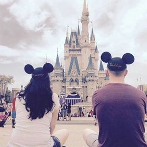 Annonce grossesse Disney
