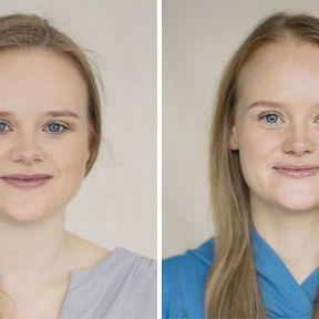 """""""Devenir mère""""- 33 femmes photographiées avant et après la naissance de leur enfant #10"""